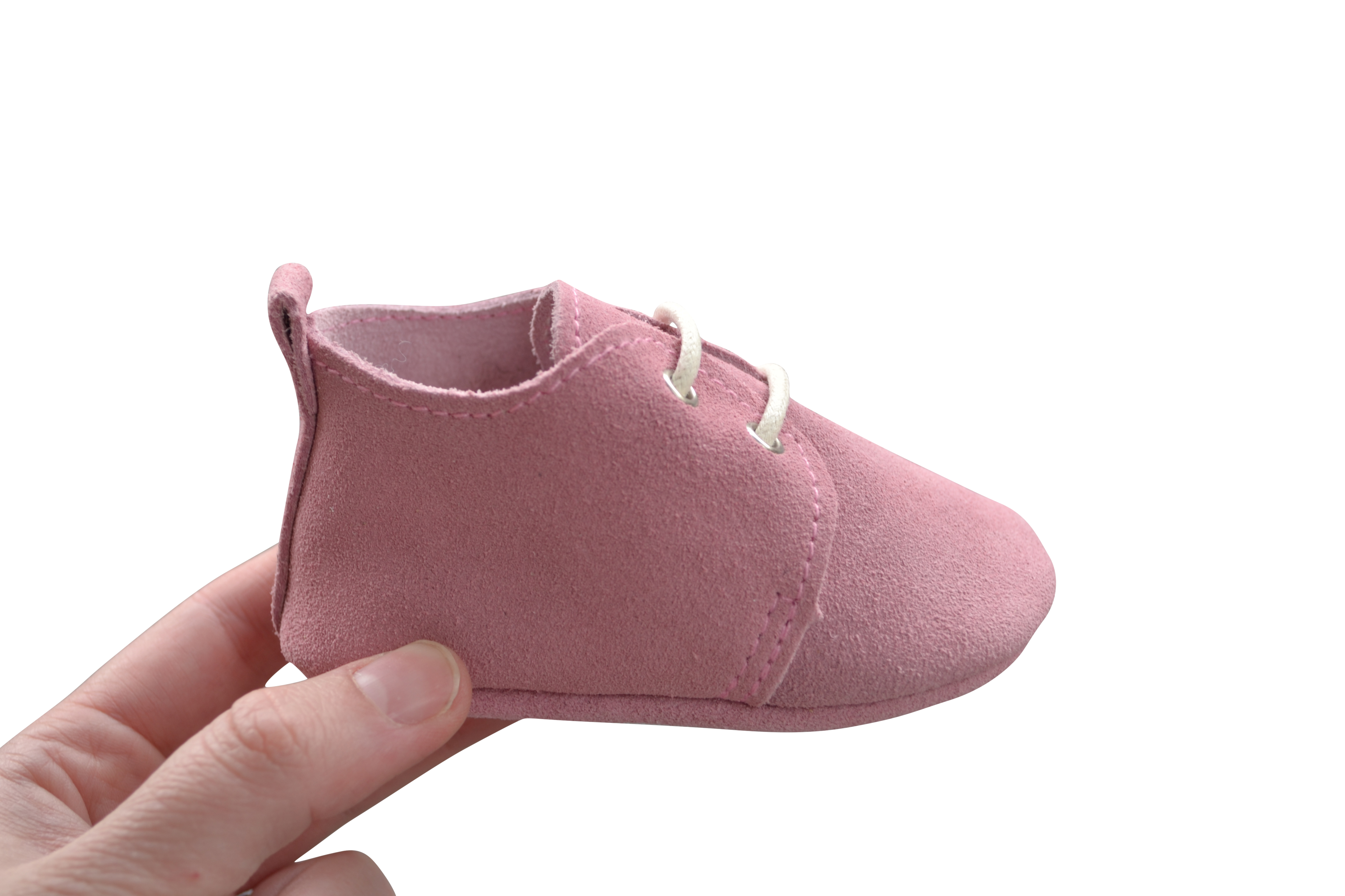 Baby leather suede oxfords pink suede baby shoes pre